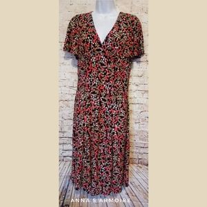 Chaps Midi Dress Size M